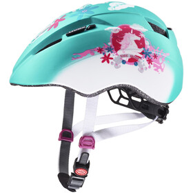 UVEX Kid 2 CC Helm Kinder mint unicorn mat